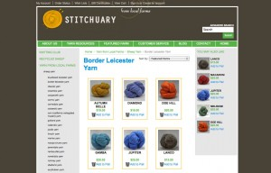 Stitchuary Big Commerce Website
