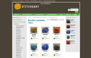 Stitchuary Big Commerce Website
