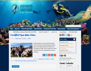 Underwater Dive Adventurers WordPress News Blog