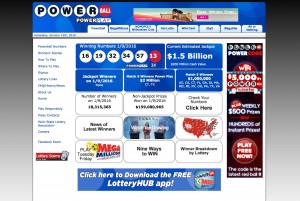PowerBall-website