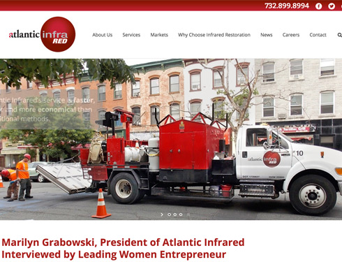 WordPress Website for Atlantic Infrared